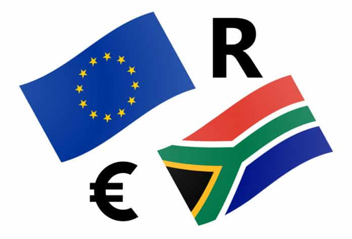 EURZAR forex currency