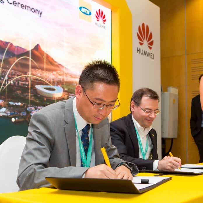 Huawei-MTN SA MOU signing